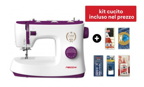 <h3>NECCHI K132A + Kit cucito (Easter Edition)</h3>