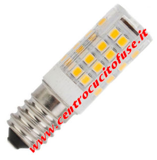 Lampadina Filetto E14 LED 220 Volts