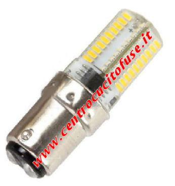 Lampadina Baionetta LED 220-240 Volts